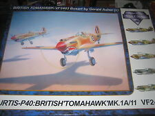 P40 WarHawk / Tomahawk 1/24 scale, Vintage Fighter Series  VF2403