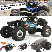 NEW Axial 1/10 RR10 Bomber 4WD Rock Racer Off-Road RTR BL w/Radio FREE US SHIP