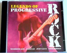 LEGENDS OF PROGRESSIVE ROCK (1998 CD) VGC (WISHBONE ASH/CARAVAN/GROUNDHOGS)