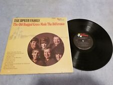The Speer Family /The Old Rugged Cross Made The Difference-Vinyl LP Record Album