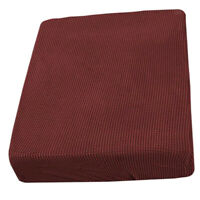 Red Stretch Sofa Seat Cushion Cover Couch Slip Covers for Living Room