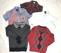Boys Size 4T Shirts Tops 5 Pc LOT The Children's Place Chaps