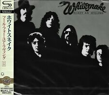 WHITESNAKE READY & WILLING RMST SHM CD+5 JAPAN 2011 MINT W/OBI - OUT OF PRINT!