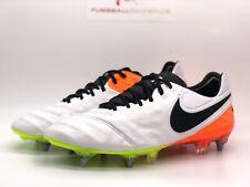 Nike Tiempo Legend VI SG-PRO  weiß schwarz orange Stollen Fußballschuhe
