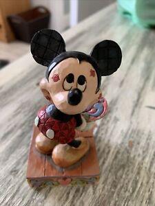 Disney Traditions Mickey Mouse 'Love Struck' 4031477 Figurine BNIB....