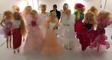 Lotto 14 barbie superstar vintage anni 80