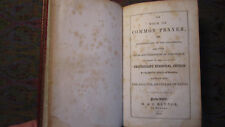 The Book Of Common Prayer/Admin. of the Sacraments-Prot. Episc. 1845 HC Raynor