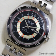 Orient Chrono Ace CB429-16240 King Diver 1970s Automatic Auth Men's Watch Works