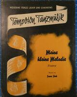 Tempoton Tanzmusik Meine kleine Melodie Franz Funk Noten H-1903
