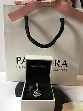New Genuine Pandora Family Heritage Pendant Charm With Pouch No.791728CZ RRP £55