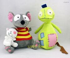 "Lovely 4"" Binoo And 9"" Toopy And 12"" Patchy Patch Set Of 1 X'mas Plush Toys"
