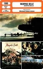 FICHE CINEMA : MEMPHIS BELLE - Modine,Stoltz,Donovan,Zane,H.Connick Jr 1990