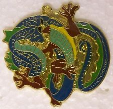 Hat Lapel Pin Scarf Clasp Animal Chinese Dragon NEW