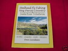 Steelhead Fly Fishing Nez Perce Idaho GREAT NEW