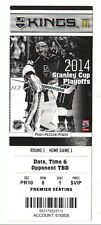 2014 LOS ANGELES KINGS VS SAN JOSE SHARKS PLAYOFFS GAME #4 TICKET STUB KOPITAR