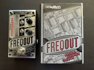 Digitech Freq Out Natural Feedback Creator Guitar Effect Pedal