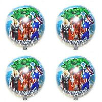 Marvel Avengers Hulk super Hero X 4 Balloons helium party birthday