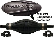 "New Primer Bulb Assembly - Epa Compliant quicksilver 8m0061875 Fits 5/16"" & 3/8"""