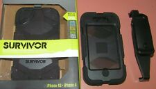 Griffin Survivor case for Apple iPhone 4/4s, Black with swiveling belt