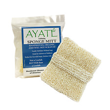 Ayaté 100% Natural Exfoliating Sponge Mitt