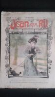 Revista Jean Que Rit N º 271 1906 Journal Demuestra que Aparecen El Viernes ABE