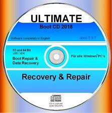Recovery & Repair CD/DVD para Windows 10, 8, 7, XP-para HP, Lenovo, Samsung, etc.