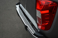 To Fit Nissan Navara NP300 (2015+) - Chrome Rear Bumper Protector Scratch Guard