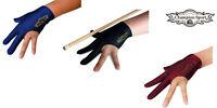 Champion Pool Cue Stick Glove- Wear On Left hand( Black, Dark Blue, Wine)