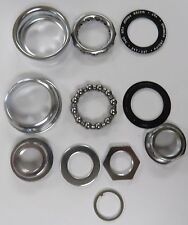 Chrome Bicycle Bottom Bracket with one piece Crank Bike Parts for American Size