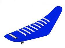 Yamaha YZ125/250 96-01 blue-blue-white motocross racing seat cover