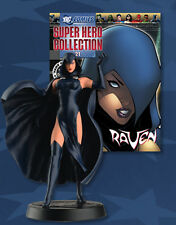 FIGURA DE PLOMO DC SUPER HERO COLLECTION 21 RAVEN + REVISTA