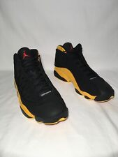 "Air Jordan 13 Melo ""Class Of 2002"" Men's Sz 7.5 BLACK/UNIVERSITY RED 414571 035"