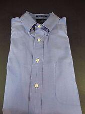"""Daniel Cremieux Dress Shirt Stanley 32/33 Long Sleeve Size 16 1/2"""" Color Blue"""