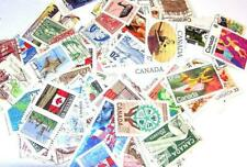 Giant Used CANADA Accumulation Stamps 100 To 500 ALL DIFFERENT Fine/VF