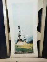Lot of 2 Clifford Brycelea Art Prints Settled Camp/Camp in the Higher Country