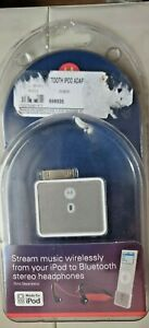 Brand New Motorola D650 Bluetooth Adapter for iPod 4G & Later SEALED