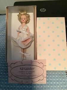 MADAME ALEXANDER MARILYN MONROE 7 SEVEN YEAR ITCH DOLL 10""