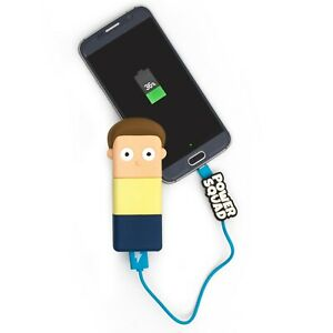 Official Rick & Morty Power Squad Power Bank 2500 mAh Android Samsung and Iphone