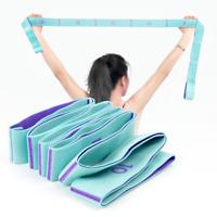 Multi Fitness Yoga Belt Yoga Stretch Belt Strap Lanyard Yoga Rope Tube Tools