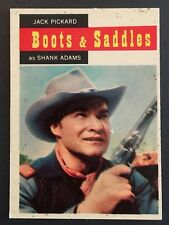 Vintage 1958 Topps TV WESTERNS card #64 SHANK ADAMS combined ship