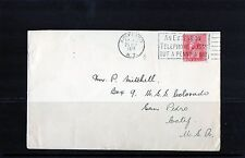 1928 1d Red Admiral On Cover To USA, 28 Sep 28 Slogan Postmark, VGC
