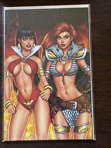 Vampirella/Red Sonja, Comics Elite Exclusive, NM/M Condition, 2019 NYCC Variant