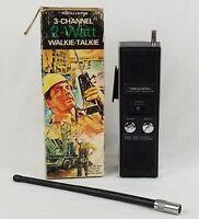 Realistic TRC-201 Walkie Talkie Stranger Things 2-Watt 3 Channel Vintage