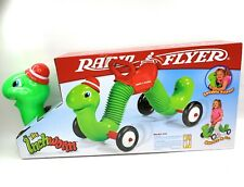 Inchworm Ride-on Indoor/Outdoor Kids Radio Flyer Toy Worm Toddler w/ Handle #73