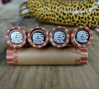 2nd Amendment USA Silver Gram Round & Vintage Lincoln Wheat Cent Coin Roll