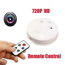 HD DVR Spy Camera détecteur de fumée de détection mouvement enregistreur vidéo
