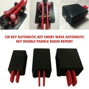 Cw Key Automatic Key For Short Wave Automatic Key Double Paddle Radio Report