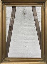 ANTIKER BILDERRAHMEN EMPIRE BIEDERMEIER VINTAGE UM 1900 GOLD 55,8 x 38,1