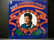 Vintage ELVIS' CHRISTMAS ALBUM LP  CAS-2428 Stereo