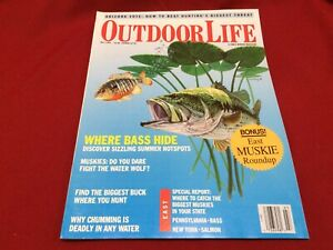 July 1992 Outdoor Life Magazine~Hunting, Fishing, Bass, Chum~Special East Report